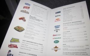 14 catt 1 in re amtrak caf car supreme cart for Boston fish supreme menu