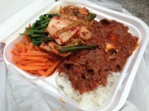 Bibimbap with Spicy Bulgogi