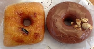 Crème Brûlée & Nutella Doughnuts
